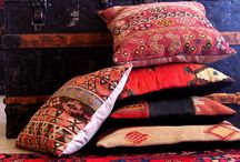 Kilim's / Inspirational ideas and colours that can be used with Kilims