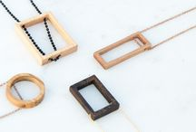 Unique Designs / Handmade Jewelry from upcycled wood, resin and metal by giodim and Cementari