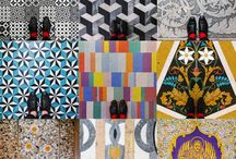 Venetian floor inspiration / Venetian floors seen by Sebastian Erras for Pixartprinting.