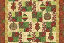 "Holiday Flourish 2 by Robert Kaufman / ""Holiday Flourish 2"" by Peggy Toole for Robert Kaufman Fabrics"
