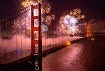 Fireworks San Francisco Style / Fireworks