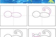 Zvieratá ako kreslíte