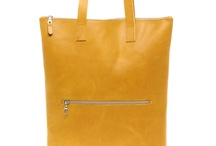 The leather tote/shopper