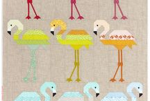 Pieced Animal Quilts / Gorgeous quilts featuring pieced animals and other images.
