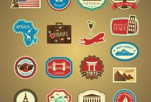 Stickers travel