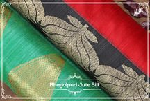 Bhagalpuri sarees / The colorful sarees, perfect for every occasion!