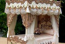 Miniature bedrooms