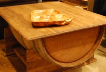 Bauer Barrels - handcrafted / Bauer Barrels handcrafted wine barrel tables
