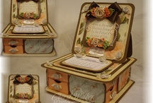 Trinket boxes / Trinket boxes with Easel card/calendars