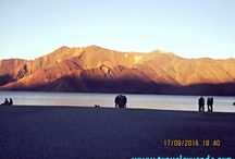 Backpacking at Pangong