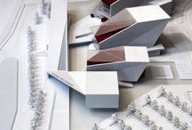 A l Model / Architecture model, Maquette, render, CGI reference and inspiration