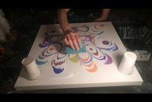 Acrylic Fluid painting MelyD