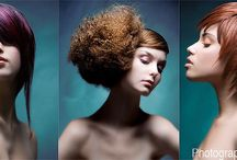 Hair photography