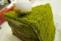 Moss cake