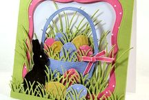 Cards Easter / by The Cutting Garden Papercraft Studio