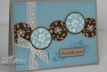 Cards - Thank You / by Sheila Pedersen Stotz