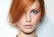 Kuparinruskea hius