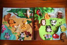 dětské knihy - quiet books