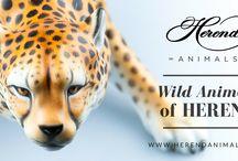 Wild Animals of Herend