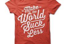 T-shirt ideeën