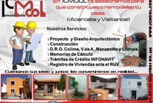 Remodelaciones y otros servicios en Colima / Algunos de los servicios que te ofrecemos. Envía un correo a icmool07@gmail.com para más información