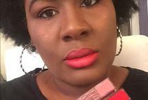 Maybelline #VividMatte Liquid Lipstick / I was sent two colors to review from Influenster. You can check out my video review https://youtu.be/_apIDqbflG8 as well as my photos below. I have submitted the unedited images for a 100% honest look at the product