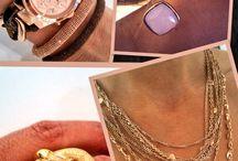 Every Day Inspiration  / Voor elke dag een item om inspiratie op te doen. Leuke sieraden en horloge combinaties, samengesteld door de medewerksters van Quickjewels.nl