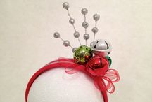 christmas fascinator hat