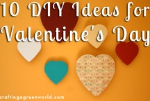 Valentine's Day Crafts / Green crafty ideas for Valentine's Day! / by Crafting a Green World