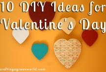 Valentine's Day Crafts / Green crafty ideas for Valentine's Day!