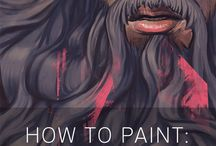 Painting and drawing tutorials