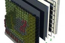 technologie zielonych ścian