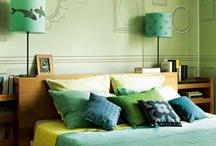 bedrooms / by Allison Blakeley