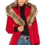 Asiatic Raccoon Fur Trim Ladies Jackets / Mackage. wool, acrylic, real natural leather Trim: Organic Asiatic Raccoon Fur Bits. Fur China. Zip front. Detachable Asiatic raccoon pelt Trimmed cover. Side zipper welt pockets. Cuffed fleshlight sleeves