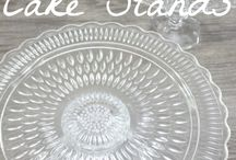 cake stands, how to make cake stand