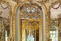 intérieur rococo opulent