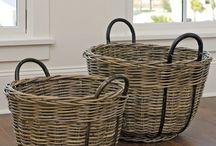 wiCker / raTTan / wooDen...Baskets / Stores...