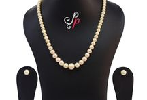 1 Line pink pearl set in perfect graduation - elegance redefined at Rs. 2,950