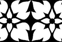 ¡STENCILS GRATIS! ¡CENEFAS Y MUCHO MÁS! / Visitanos y descarga en nuestra web decenas de plantillas para estarcir los motivos más variados: animales, flores, plantas, cenefas... Estamos en www.mamaeva.net