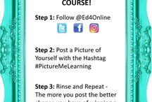 #PictureMeLearning / Post your picture using the #PictureMeLearning and tag @ed4online on Instagram, Twitter, and Facebook you might win a free class on us! Go to this website for more details: https://ed4online.com/win-free-online-course