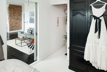 FEMININE TOUCH / A feminine take on Scandinavian interiors with a touch of sartorial elegance.