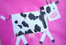 At the Farm, farm animals preschool and kindergarten activities and crafts / On the farm. Learn about farm animals like pigs, cows, sheep, and chickens. Jobs on a farm and food from a farm. Preschool and kindergarten lessons, activities, crafts, and printables.