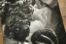 Greek gods tattoo