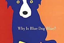 Love Blue Dog