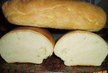 Slané pečivo-chleba, rohlíky...