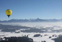 Ballonfahrten im Allgäu / Ballonfahrten im Allgäu
