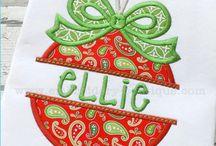 Christmas (pjs, dresses, gifts)