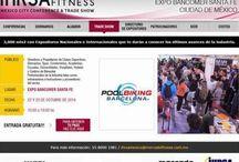 IHRSA POOLBIKING MEXICO 2014 / Expo Bancomer Santa Fe.  First day at IHRSA POOLBIKING Mexico, the most important fitness contest in Latin America  Premier jour POOLBIKING en IHRSA Mexique, l'évènement fitness plus important de l'Amérique Latine  Primer día POOLBIKING en IHRSA México, el certamen de Fitness más importante de América Latina