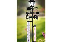 Garden weather stations