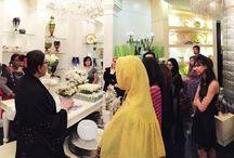 Wedding Planning Students @ a Floral Workshop